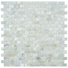 Discount Glass Tile Store - Mother of Pearl Seashell Glass Mosaic - White, $18.96 (http://www.discountglasstilestore.com/mother-of-pearl-seashell-glass-mosaic-white/)