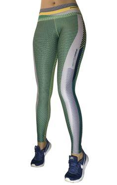 Drakon - Green Dots Leggings