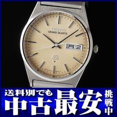 セイコー『グランドクォーツ』9943-8030 メンズ SS/SS クォーツ 3ヶ月保証【高画質】【中古】【楽天市場】