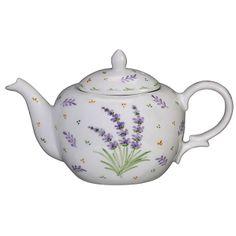 Andrea by Sadek Lavender Oval Teapot