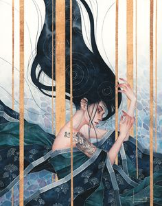 Hieu Nguyen, better known by his alias Kelogsloops, is an Australian watercolor artist. Kelogsloops also makes digital drawings. Art Et Design, Illustration Art, Illustrations, Pretty Art, Aesthetic Art, Art Inspo, Amazing Art, Art Reference, Watercolor Art