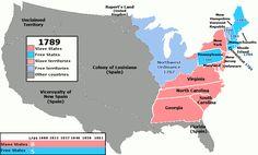 US Slave Free 1789-1861 - Esclavage aux États-Unis — Wikipédia