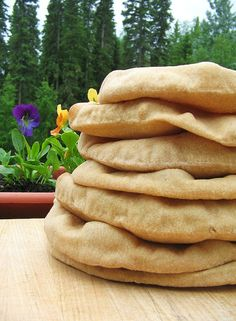 Pita Bread Recipe for Stand Mixer. One day I will have one!!!