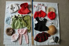 Antique vintage modern doll clothes, over 50 pieces - will end Feb. Vintage Modern, Boho Shorts, 50th, Doll Clothes, Dolls, Antiques, Ebay, Women, Fashion