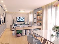Best furniture collection for all styles – You make a house to be home with your furnitures Small Room Design, Home Room Design, Decor Interior Design, Interior Design Living Room, Living Room Designs, House Design, Home Living Room, Living Room Decor, Affordable Furniture