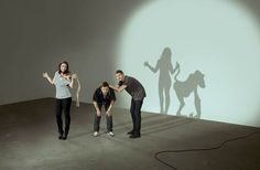 Clever Photos Casting Intricate Shadows With Their Bodies
