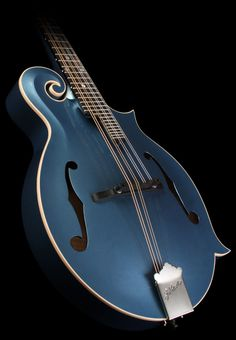 Pelham blue F-style mandolin?  It's growing on me....