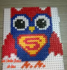 Super Hootie hama perler beads by Jessica Bartelet - Les perles Hama de Jess