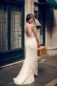 Yasmin Gown from BHLDN | 100 Layer Cake