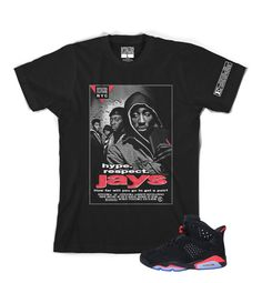 2a9ed524aefb78 Jays Tee added to match Infrared 6 Jordans