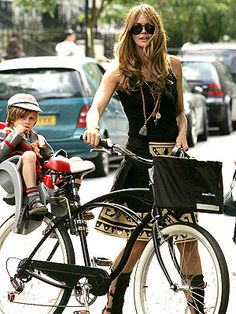 ELLE MACPHERSON From the catwalk to the playground, these hot mamas know how to work it.