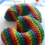 m&m cake :: candy cake :: kit kat cake