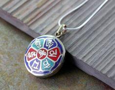 compassion mandala pendant