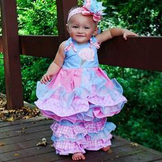 Pageant OOC Cotton candy wear size 2T on Etsy, $55.00