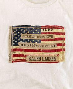 Denim & Supply Ralph Lauren T-Shirt, Flag Tee - T-Shirts - Men - Macy's
