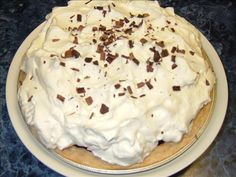Luby s Cafeteria s Chocolate Icebox Pie from Food.com:   Rich and delicious! This is one of Luby's most requested recipes. Note that cooking time does not include chilling time.