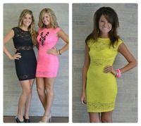 Lace Night Dress, Multiple Colors