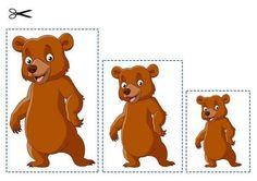 Edukativni materijal na bazi Montessori pedagogije Kindergarten Crafts, Preschool Crafts, Autism Activities, Preschool Activities, Fairy Tale Crafts, Sequencing Pictures, Teddy Bear Day, Goldilocks And The Three Bears, Art Drawings For Kids