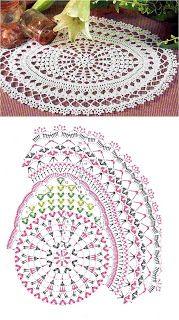 Solo esquemas y diseños de crochet: dificultad experta