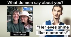 What do men say about you?