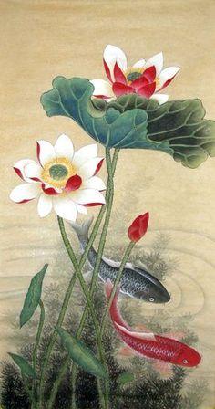 Koi Fish,43cm x 86cm(17〃 x 34〃),2319023-z