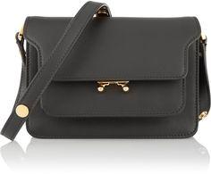 Marni Trunk mini leather shoulder bag   | ≼❃≽ @kimludcom