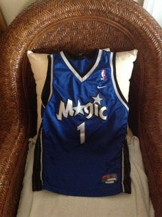 Nike Orlando Magic Tracy Mcgrady #1 Blue #Basketball Jersey Size L (14-16) Youth from $24.99