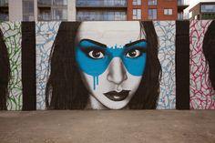 "Fin DAC ""The Magnificent 7"" New Mural - Dublin, Ireland"