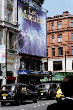 Queen's Theatre, Les Miserables, London England