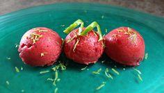 Blendtec Strawberry Lime Sorbet   Our Paleo Life