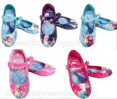 New Frozen Elsa Princess Cosplay Shoes Girls Kids Baby Shoes More Size #Unbranded #Flats
