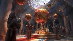 The Orrery by Jeremy Fenske | Fantasy | 2D | CGSociety