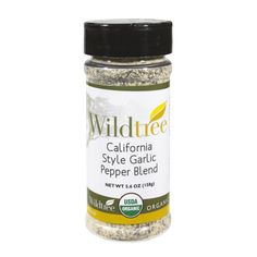 California Style Garlic Pepper Blend by Wildtree