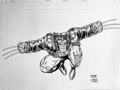 Wolverine piece I've inked over Arthur Adams pencil scan. Did it while talking to Zach Howard and J.C. Washburn for Blacklist Underground Podcast. Sub me at www.youtube.com/WaldenWongArt #wolverine #artadams #xmen #inking #inks #ink #inker #marvel #comics #marvelcomics #logan #mcu #dc #dccomics #uncannyxnen #art #arts #artwork #penandink #sketchbook #youtube #video #arte #drawing #sketching #howtodraw #patch #artoftheday #drawingchallenge #artchallenge Drawing Challenge, Art Challenge, Comic Art, Comic Books, Marvel Comics Art, Wolverine, X Men, Art Day, Ink