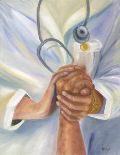 Caring Painting  - Caring Fine Art Print