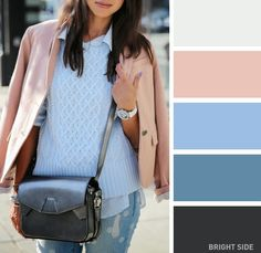 15tender color combinations for your spring wardrobe