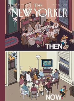 Then and now.Was it better then?
