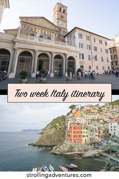 Two week Italy itinerary. Where we went with two weeks in Italy travelling by train. Italy Travel Tips, Rome Travel, Travel Usa, Travel Destinations, Backpacking South America, Travel Around Europe, Free Vacations, Vacation Spots, Vacation Ideas