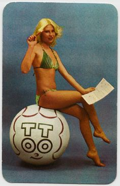 Boldog új évet kíván a Sportfogadási és Lottó Igazgatóság Kártyanaptár, 1978