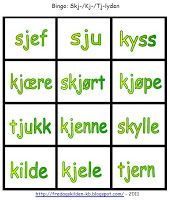 FredagsKilden: NORSK - Undervisningsmateriell 1-17 Bingo, Grammar, Barn, Education, Reading, School, Tips, First Class, Word Reading