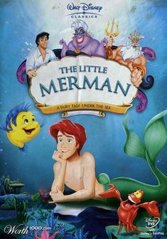 So I guess this little merman and Prince Eric are a gay couple..? Hahah