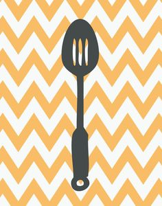 Items similar to Custom Listing for Heather, Kitchen Art Prints - Chevron Kitchen Set of Inches on Etsy Chevron Kitchen, Kitchen Art Prints, Kitchen Pictures, Diy Arts And Crafts, Silhouette Projects, Pattern Wallpaper, Printable Wall Art, Pop Art, Decoration
