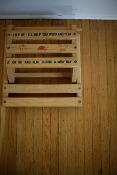 Vintage Wooden Childrenu0027s Chair/Step Up Stool