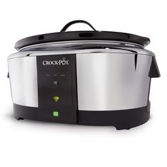 Have you ever been held-up somewhere wishing you could just get home to finish your slow-cooked dinner? Wouldn't it be nice if you could control your Crock-Pot® from wherever you are? Now you can! NEW