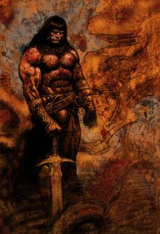 Another Conan piece I did for a pitch that never came off, sadly. Another Conan Red Sonja, Henri Matisse, Conan The Destroyer, Conan Movie, Conan Comics, Graphic Novel Art, Conan The Barbarian, Sword And Sorcery, Marvel