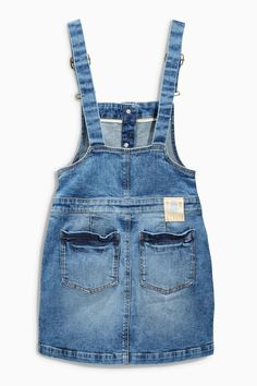 Buy Light Blue Denim Pinafore (3-16yrs) online today at Next: United States of America