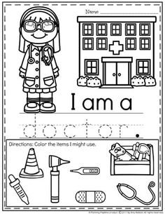 These free community helper sort and classify mats help kids learn about people who help us. They are great for Preschool, Pre-K and Kindergarten. Community Helpers Worksheets, Community Helpers Activities, Community Helpers Kindergarten, School Community, Kindergarten Units, Kindergarten Worksheets, Preschool Learning Activities, Community Helpers Art, Space Activities