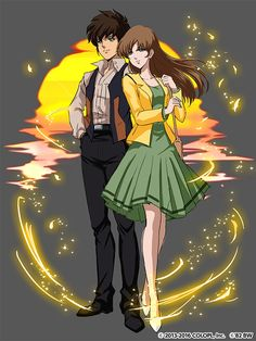 Robotech Macross Rick and Lisa