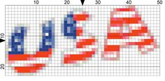 Work an USA Needlepoint Border for the 4th of July: Day 177 of the 365 Needlepoint New Year's Resolutions Challenge