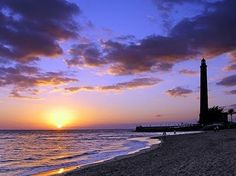 Sunset @Maspalomas #Gran Canaria, #spain #travel